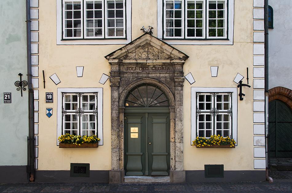 Riga, Historical Centre, Drei Brüder