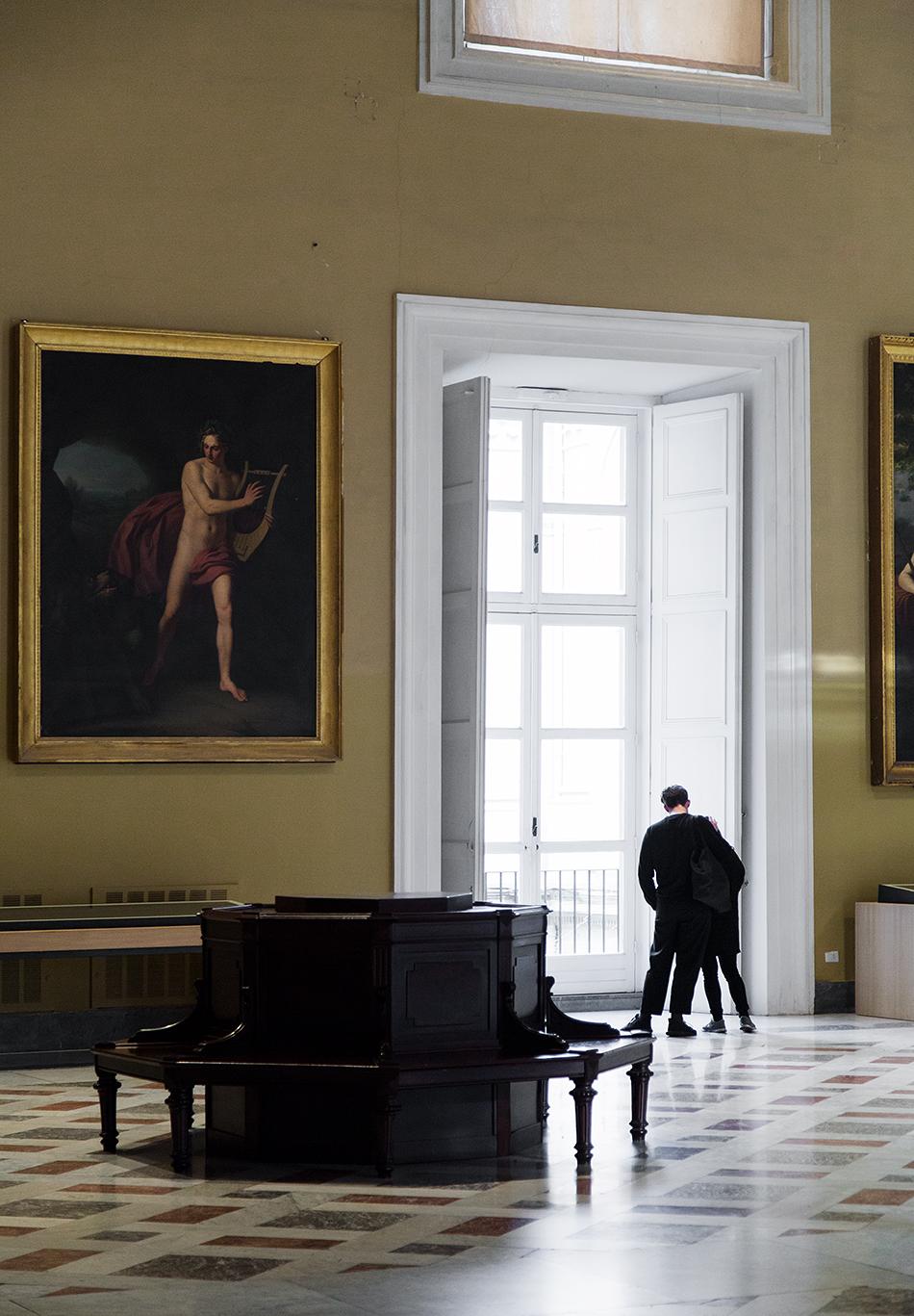Neapel, Archäologisches Nationalmuseum, Orpheus in der Unterwelt von Angelo Scatta