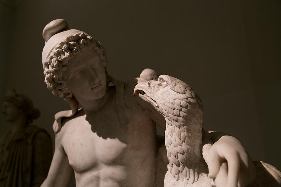 Neapel, Archäologisches Nationalmuseum, Ganymed und Jupiter