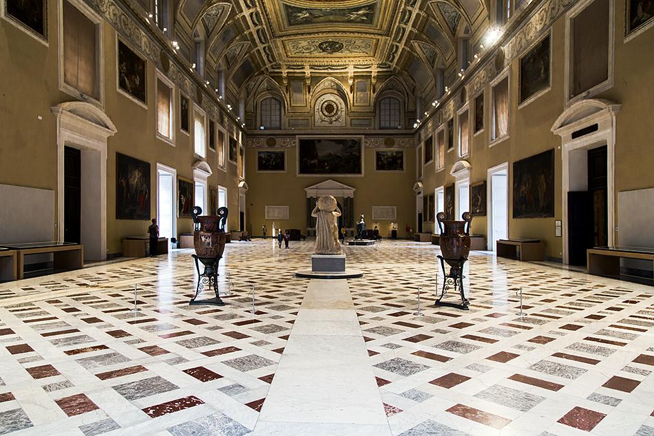 Neapel, Archäologisches Nationalmuseum, Sala Meridiana