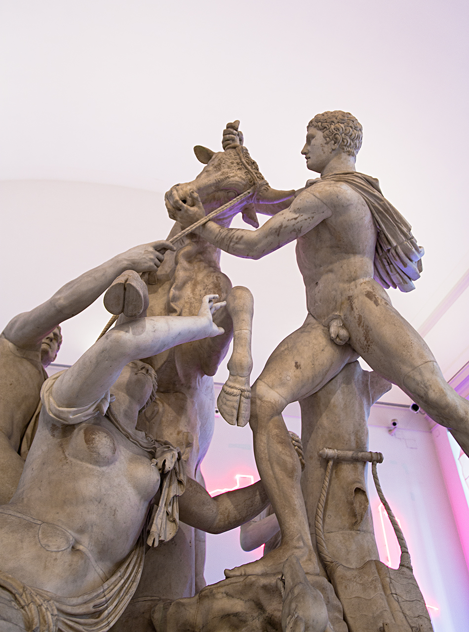 Neapel, Archäologisches Nationalmuseum, Toro Farnese