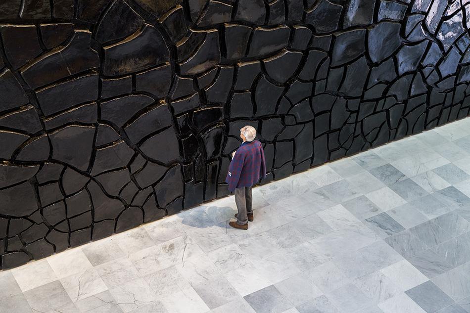 Napoli, Museo Nazionale di Capodimonte, John Armleder, SPLIT!