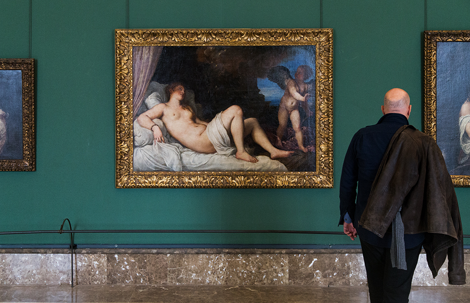 Napoli, Museo Nazionale di Capodimonte, Tiziano, Danae