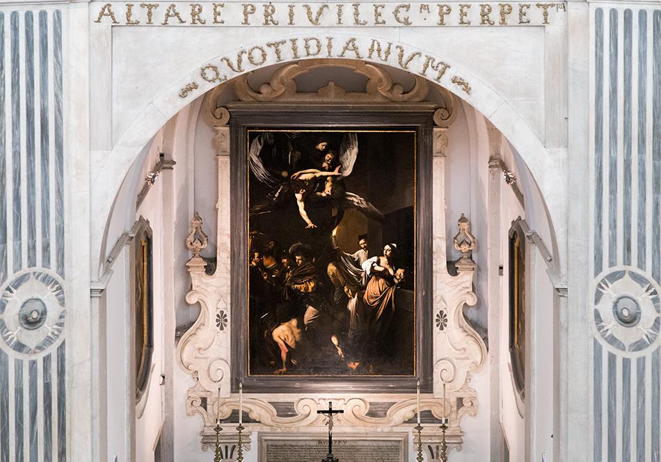 Neapel / Napoli, Caravaggio, Sette opere di Misericordia