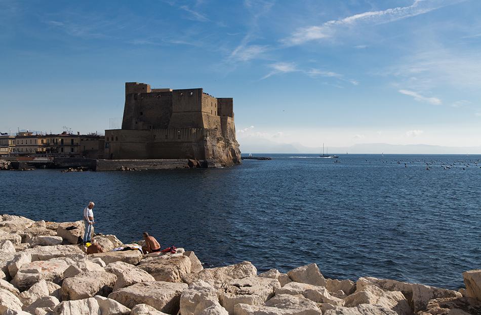 Neapel / Napoli, Castel dell'Ovo