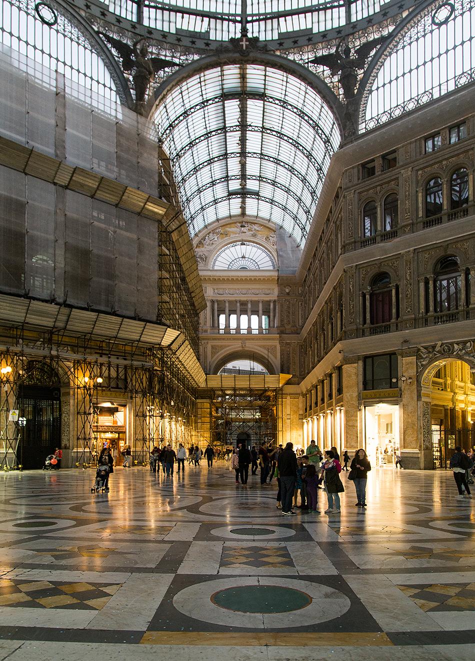 Neapel / Napoli, Galleria Umberto II