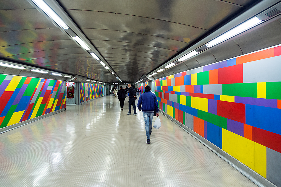 Neapel, Napoli, Metro Station, Mater Dei