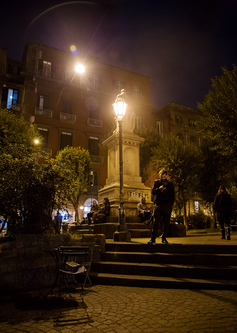 Neapel / Napoli, Piazza Bellini