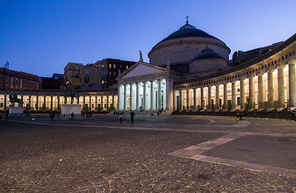 Neapel / Napoli, Piazza del Plebiscito