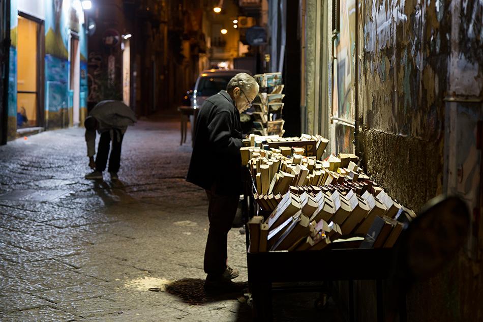 Neapel / Napoli, Vico Quercia