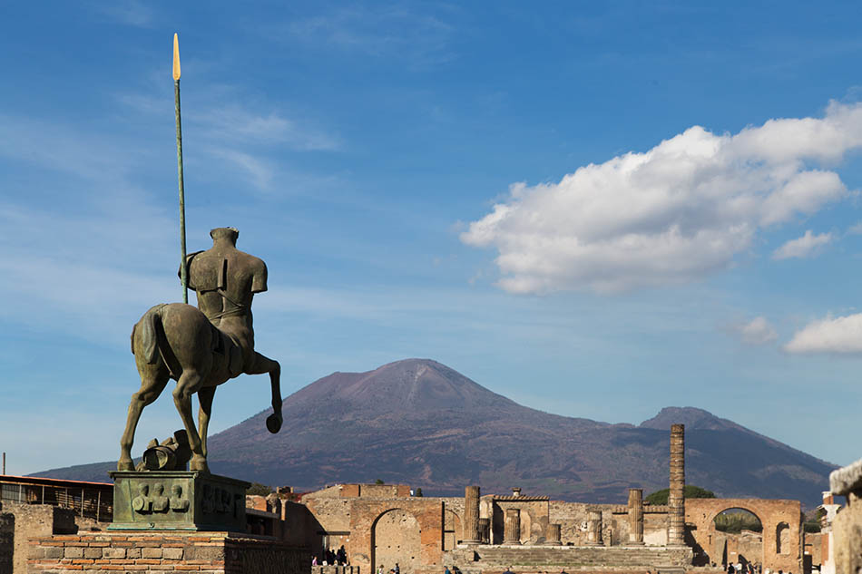 Pompei, Igor Mitoraj, Centauro