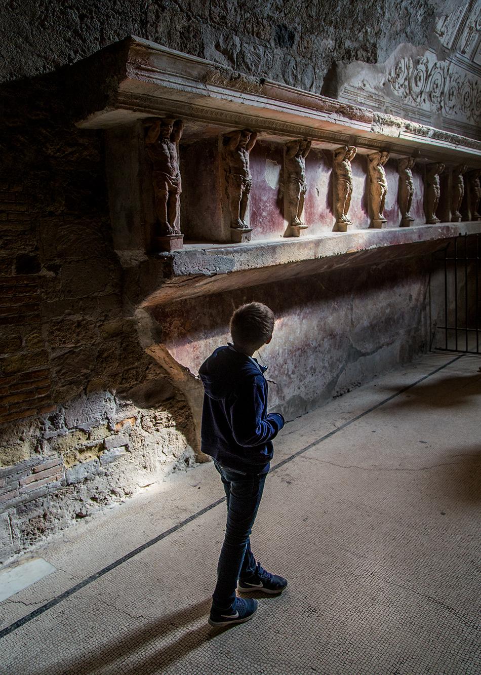 Pompei, Terme del Foro