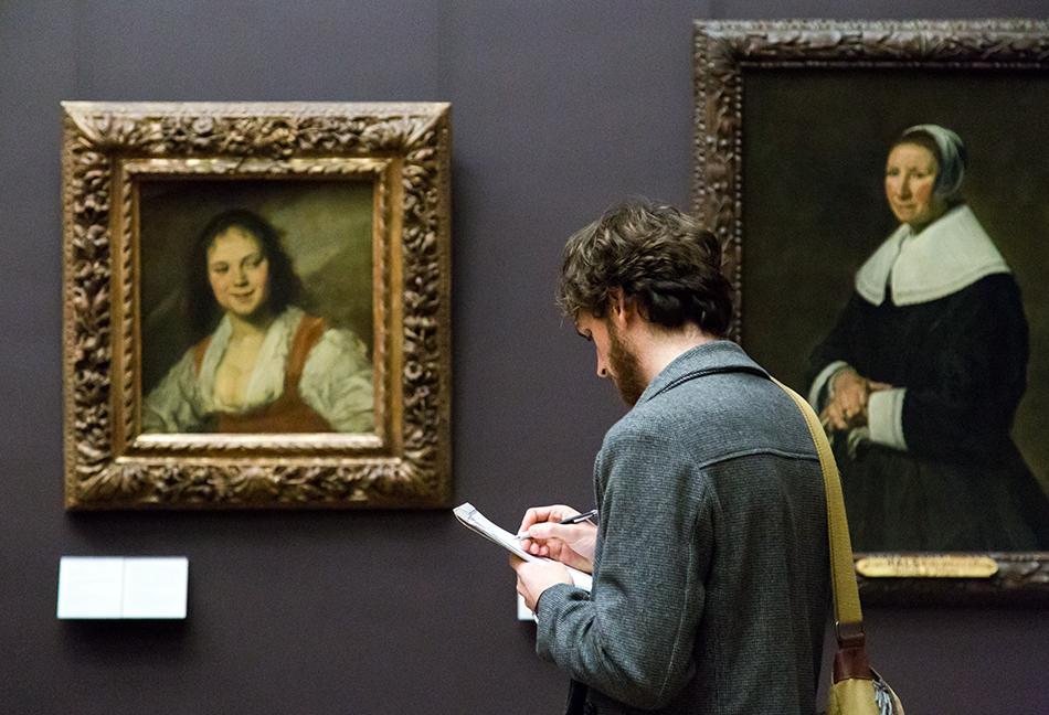 Fabian Fröhlich, Louvre, Frans Hals, La Bohemienne