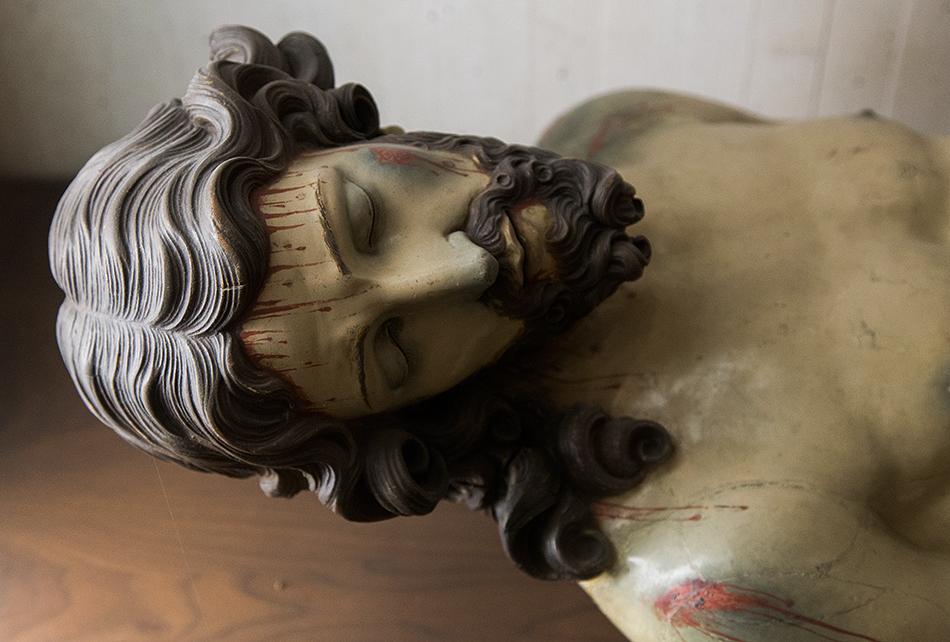 Fabian Fröhlich, Louvre, Entourage de Juan Ron, Christ mort