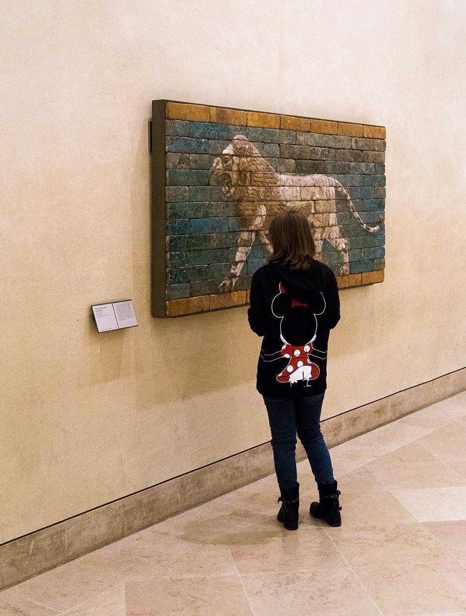 Fabian Fröhlich, Louvre, babylon lion