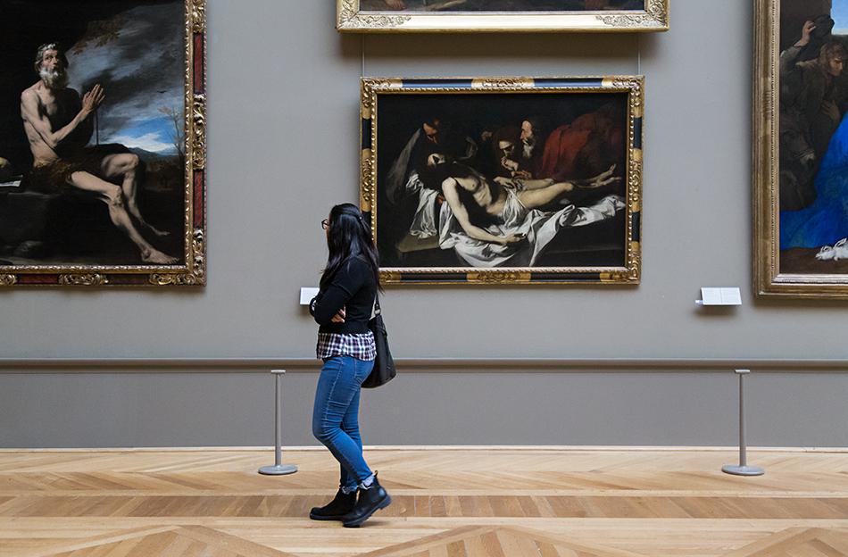 Fabian Fröhlich, Louvre, Ribera, La Déposition du Christ