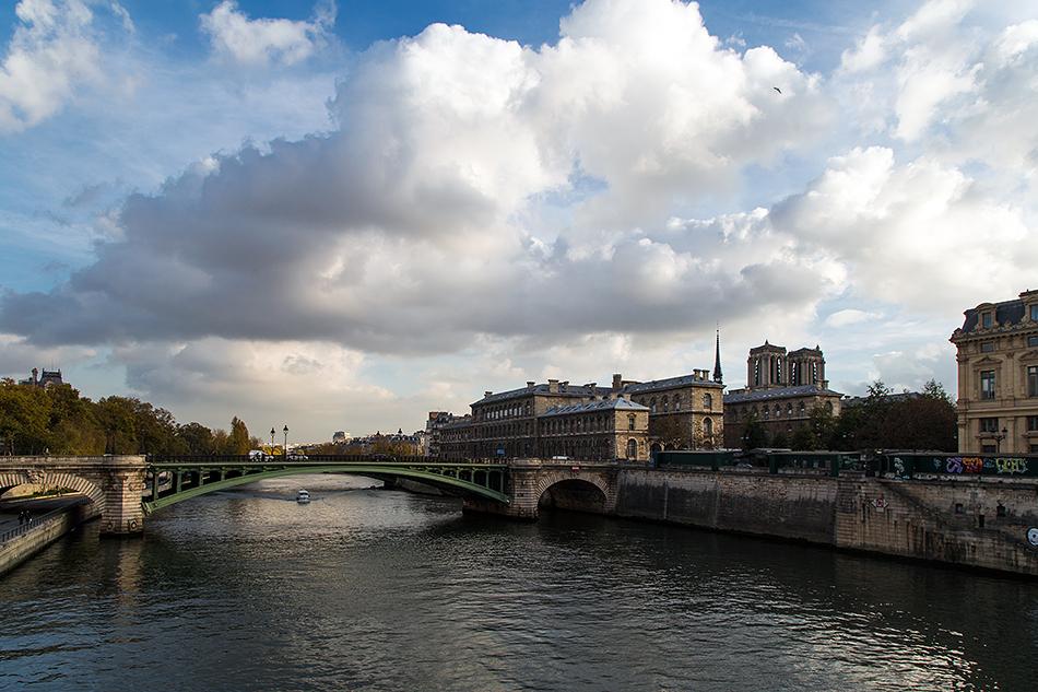 Fabian Fröhlich, Paris, Pont Notre-Dame