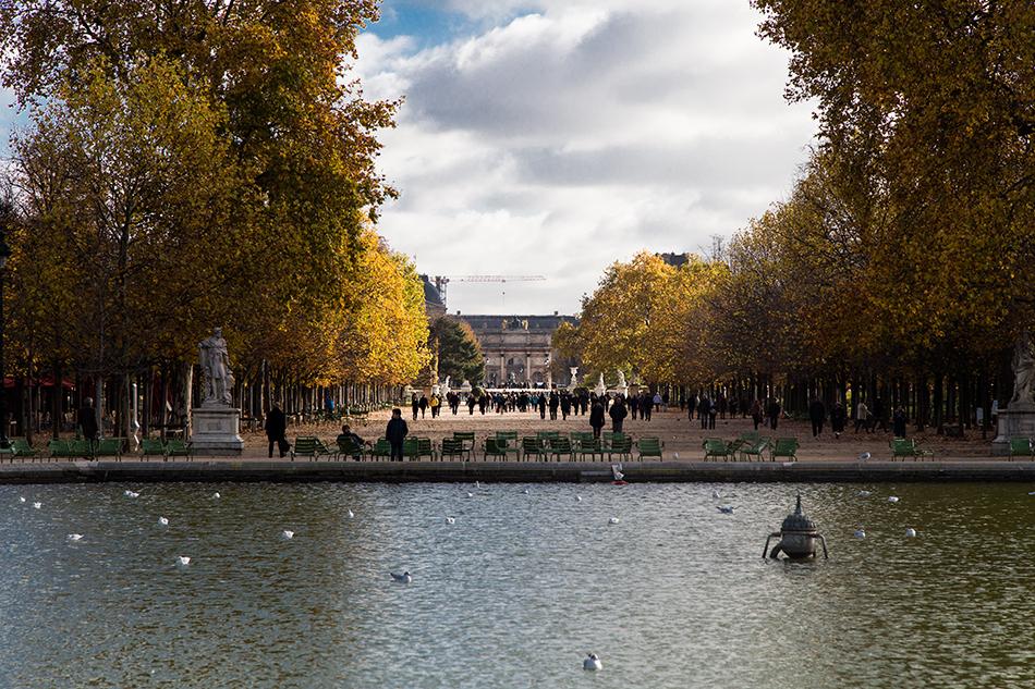 Fabian Fröhlich, Paris, Jardin des Tuileries