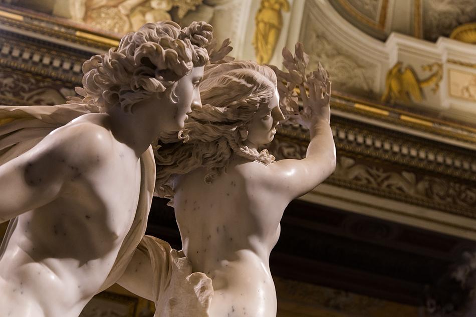 Rom, Galleria Borghese, bernini, Apollo und Daphne