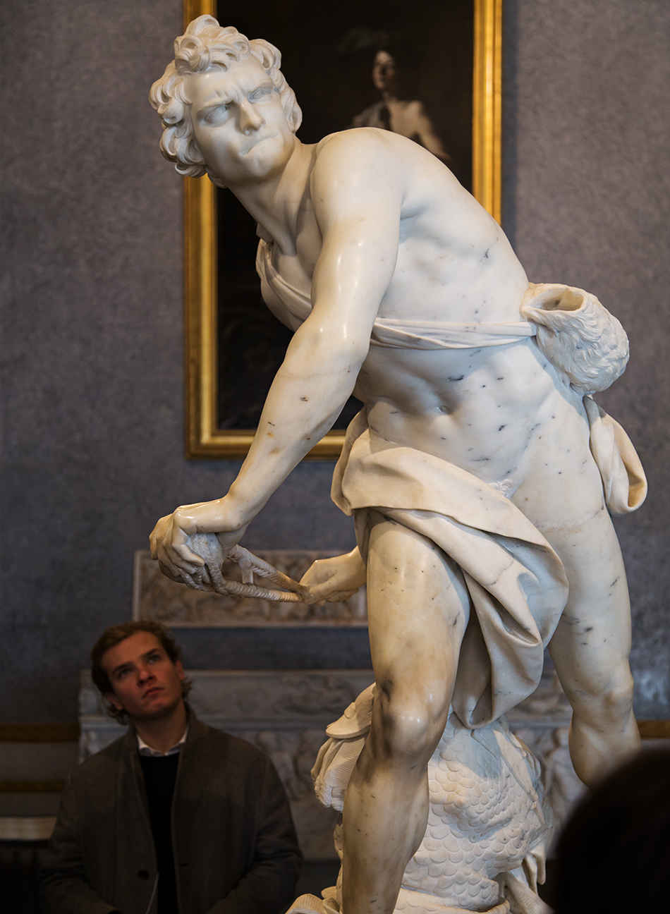 Rom, Galleria Borghese, Gian Lorenzo Bernini , David