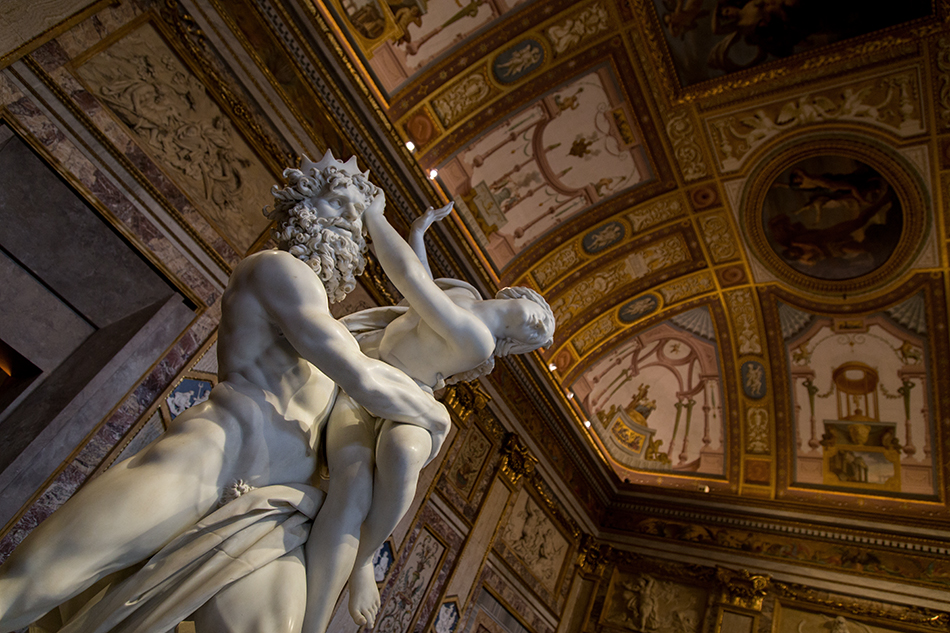 Rom, Galleria Borghese, Raub der Proserpina