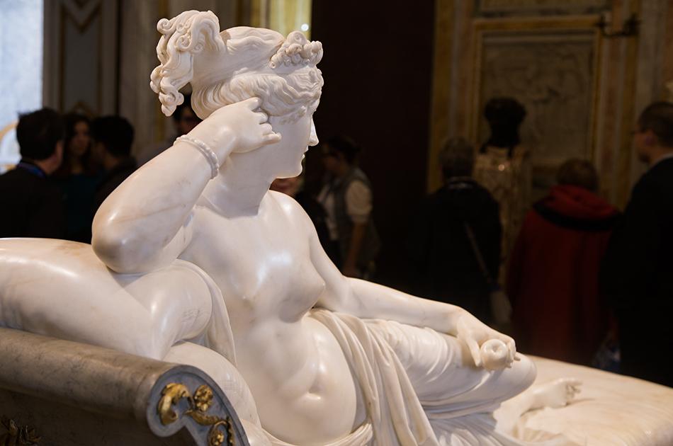 Rom, Galleria Borghese, Antonio Canova, Paolina Borghese Bonaparte