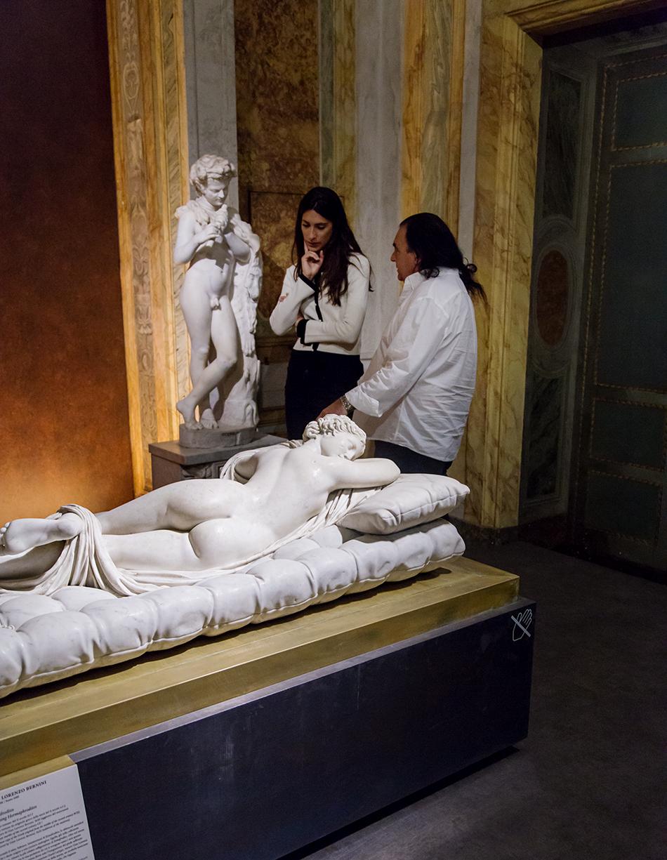 Rom, Galleria Borghese, Hermaphrodit