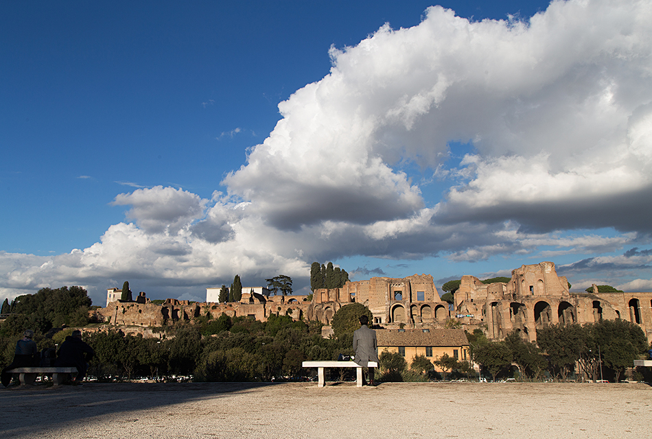 Rom, Circus Maximus and Monte Palatino