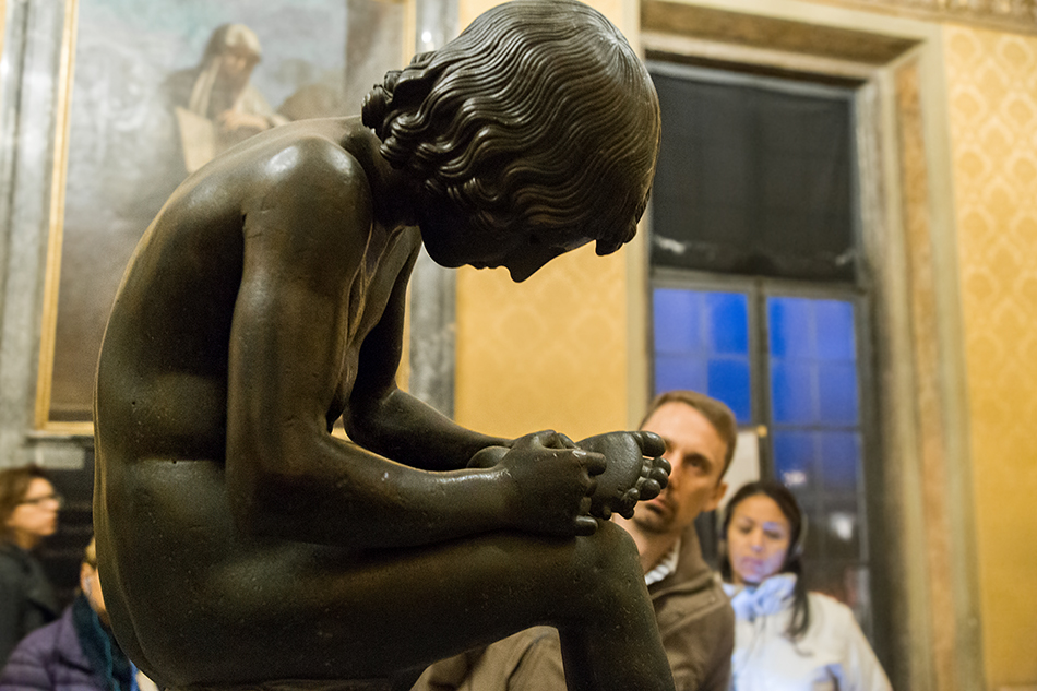 Rom, Kapitolinische Museen, Dornauszieher