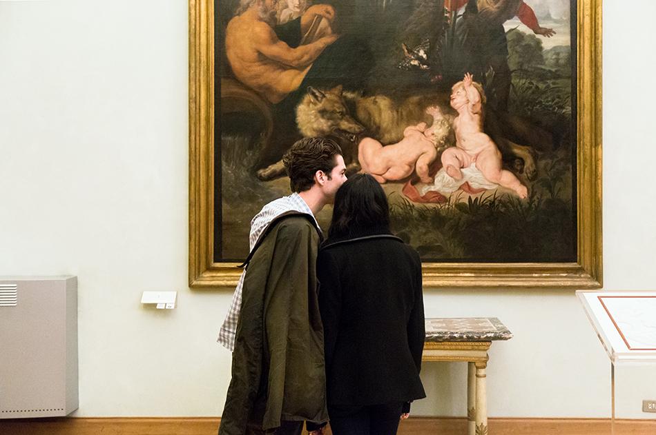 Rom, Kapitolinische Museen, Rubens, Romulus e Remus