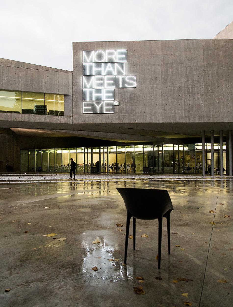 Rom, MAXXI, Maurizio Nannucci, More than meets the eye