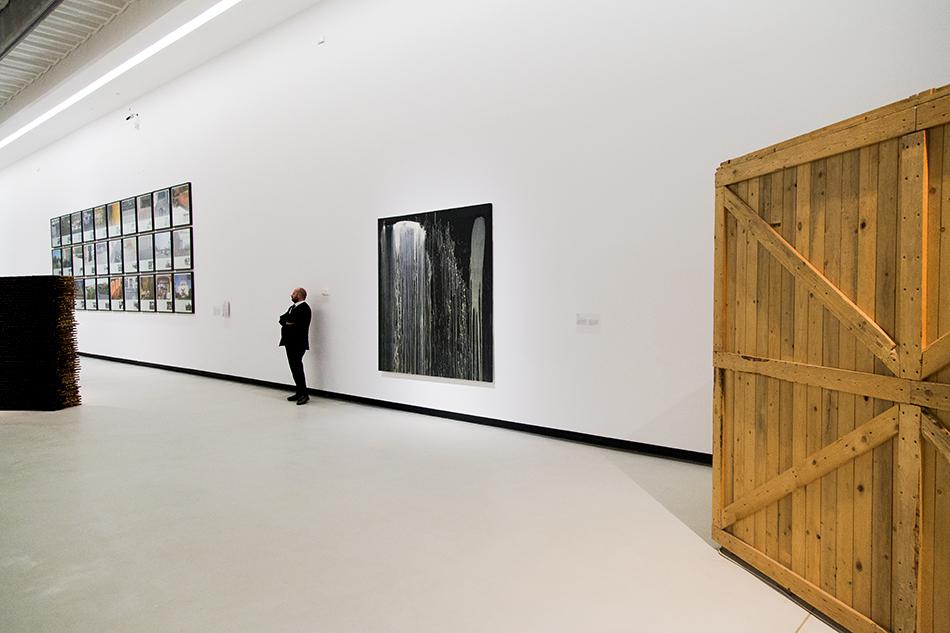 Rom, MAXXI, Pat Steir, Untitled