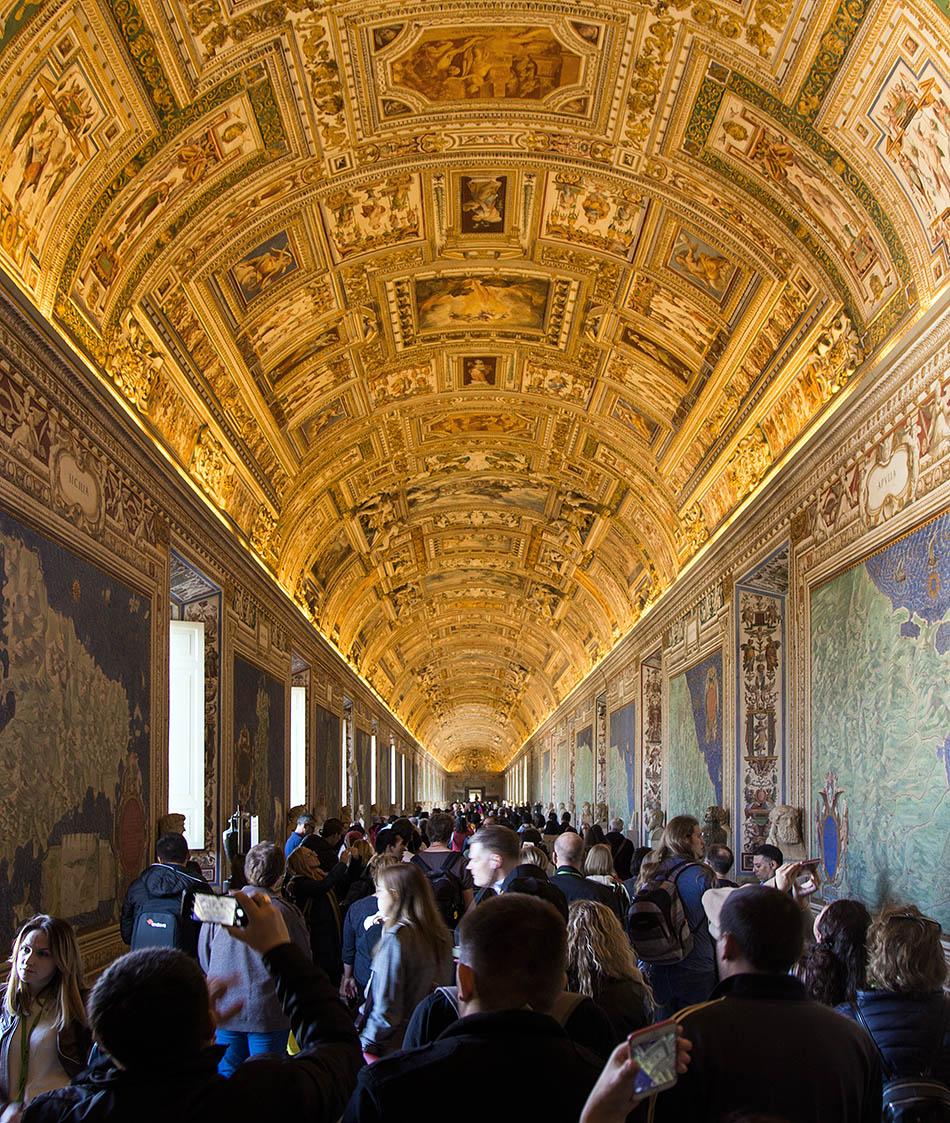 Rom, Vatikanische Museen, Galerie der Landkarten