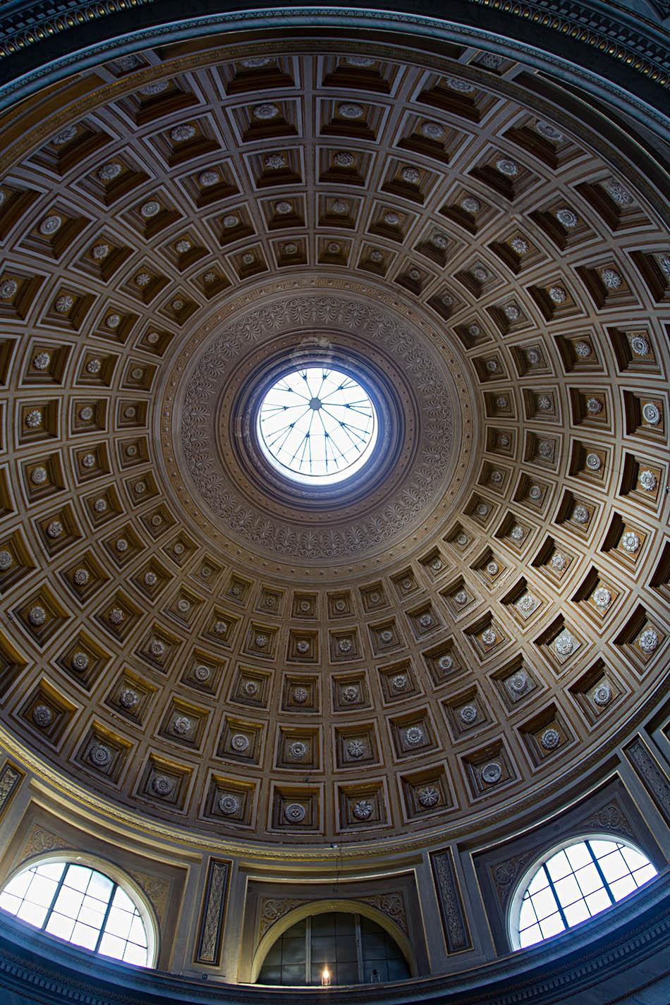Rom, Vatikanische Museen, Museo Pio Clementino, Sala Rotonda