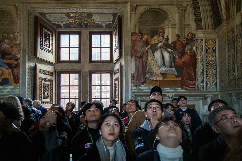 Rom, Vatikanische Museen, Stanza della Segnatura