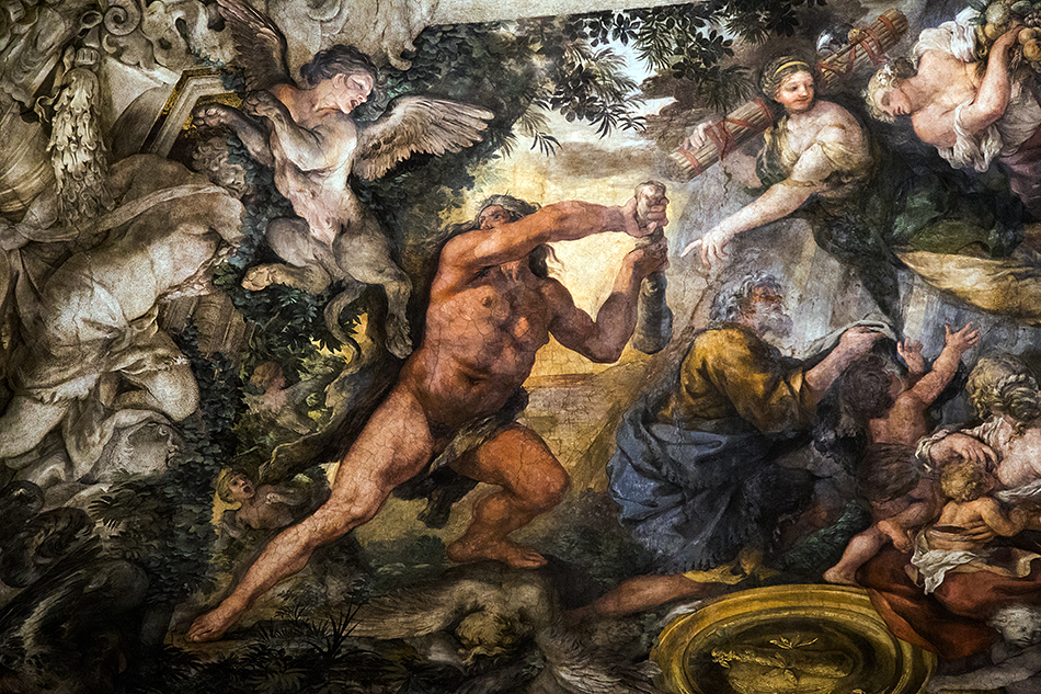 Rom, Palazzo Barberini, Pietro da Cortona, Allegory of Divine Providence and Barberini Power
