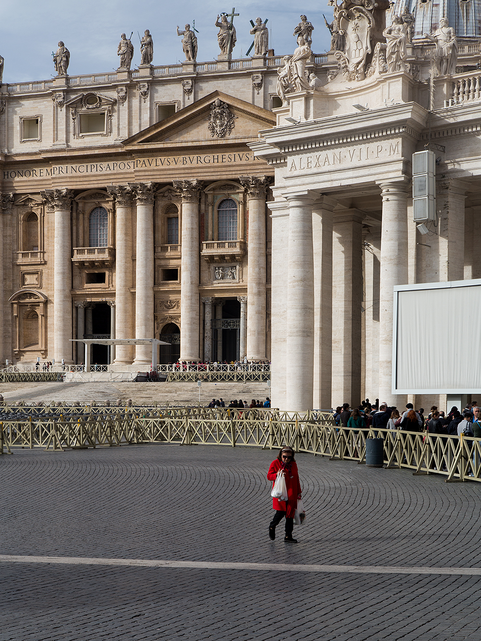 Rom, Petersdom, Petersplatz