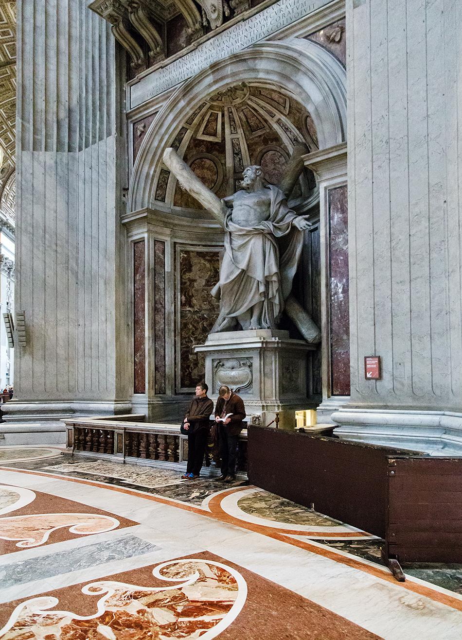 Rom, Petersdom, Heiliger Andreas