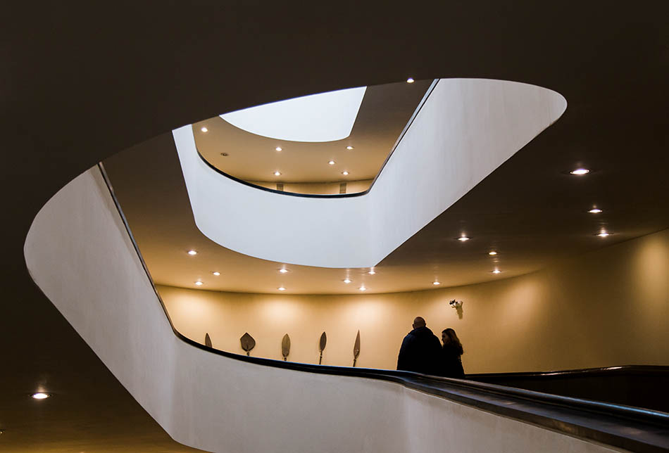 Rom, Vatikanische Museen, Spiral Ramp at the new entrance