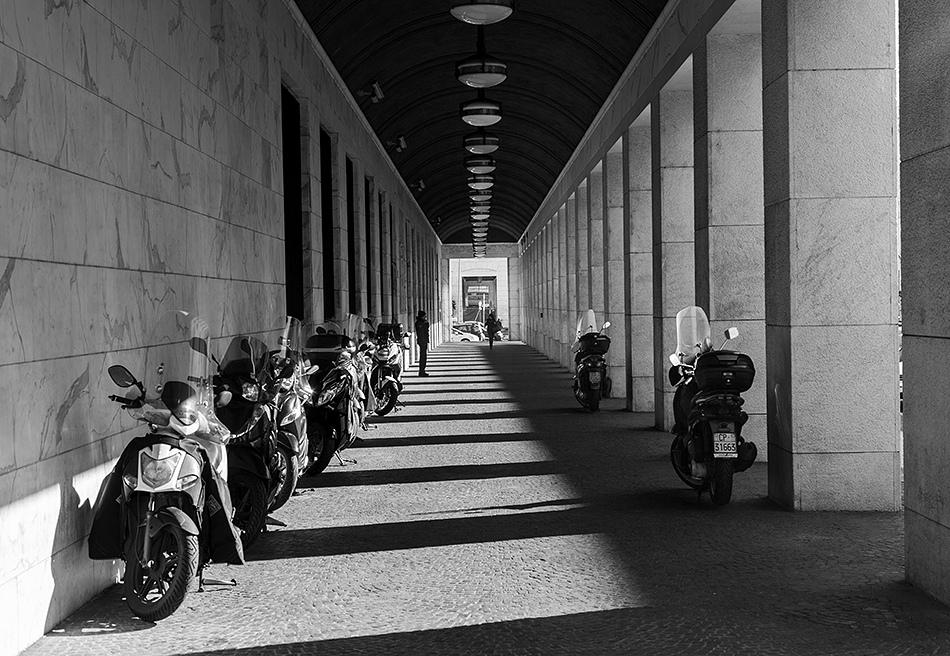 Rom, EUR, Viale della Civiltà del Lavoro