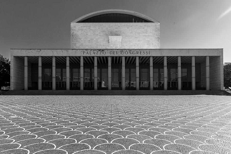 Rom, EUR, Palazzo dei Congressi