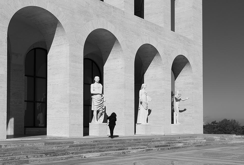 Rom, EUR, Colosseo Quadrato