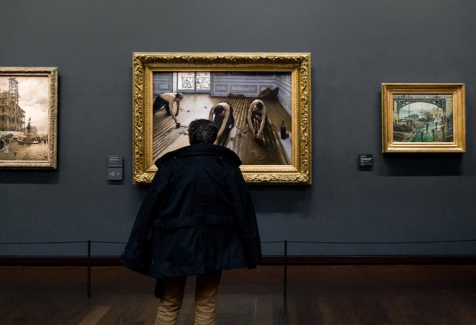 Paris, Musée d'Orsay, Gustave Caillebotte, Parkettschleifer