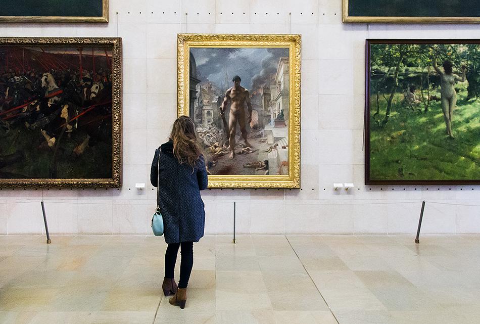 Paris, Musée d'Orsay, Henri Camille Danger, Plage!