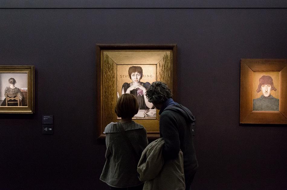 Paris, Musée d'Orsay, Welden Hawkins, Séverine