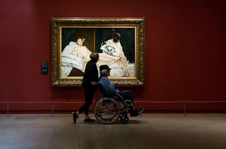 Paris, Musée d'Orsay, Edouard Manet, Olympia