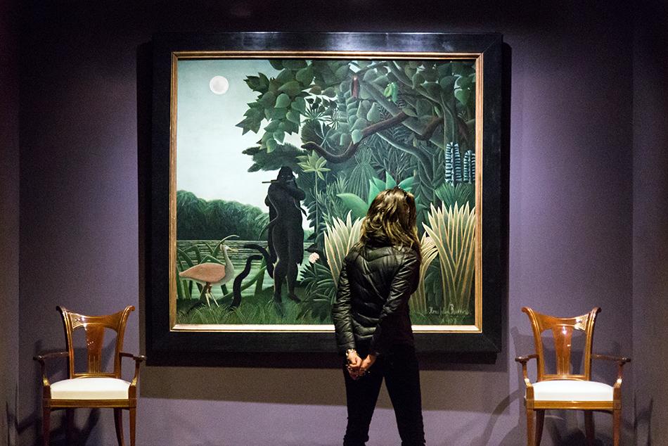 Paris, Musée d'Orsay, Henri Rousseau,, Die Schlangenbeschwörerin