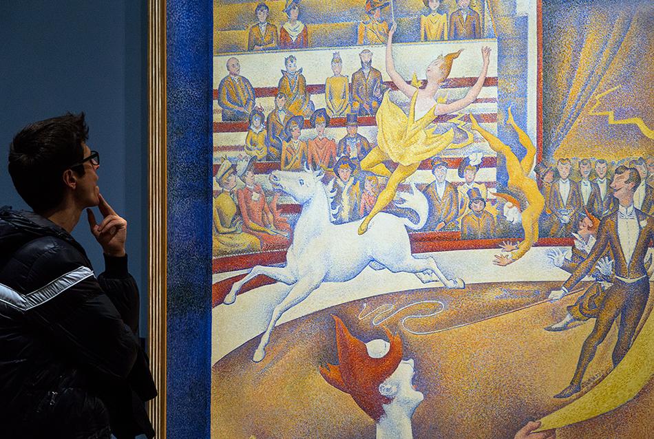 Paris, Musée d'Orsay, Georges Seurat, Der Zirkus