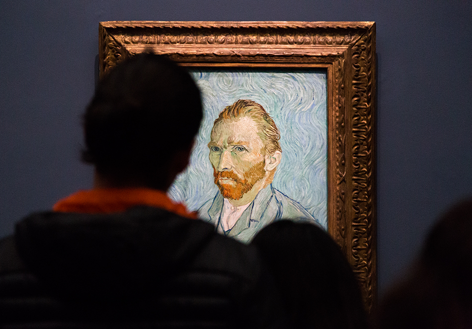 Paris, Musée d'Orsay, Vincent Van Gogh,, Selbstporträt