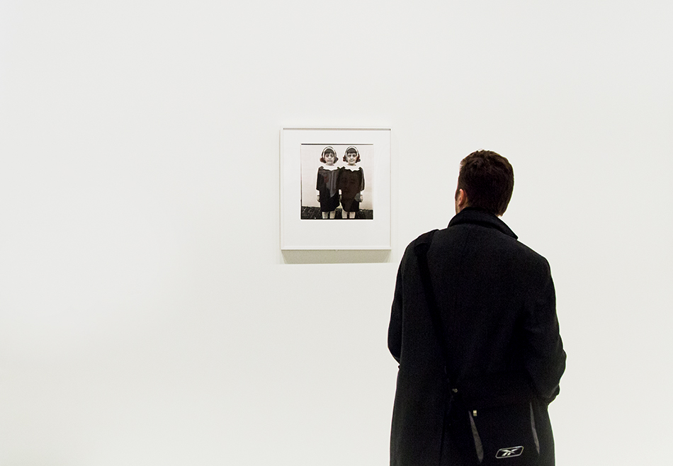 Paris, Fondation Louis Vuitton, MOMA, Diane Arbus, Identical Twins